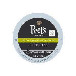 Peet's Dark Roast Decaf House Blend Coffee