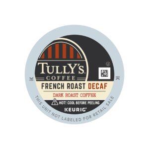 Tully's Dark Roast Decaf French Roast Coffee