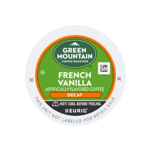 Green Mountain Flavored Decaf French Vanilla Coffee