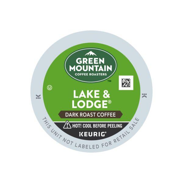 Green Mountain Dark Roast Lake& Lodge Coffee