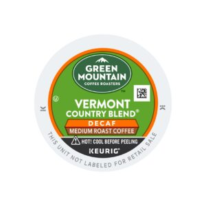 Green Mountain Medium Decaf Vermont Country Blend Coffee