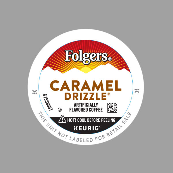 Folgers Flavored Caramel Drizzle Coffee
